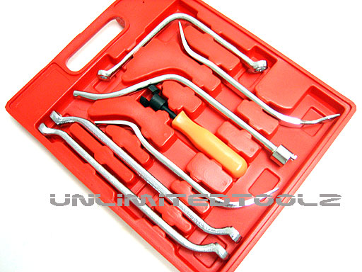 7 PCS COMPLETE DRUM BRAKE REPAIR KIT AUTO HAND TOOL