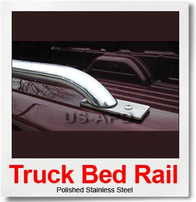 2009 09 Chevy Silverado 2500 6'/6.5′ Short Bed Rails