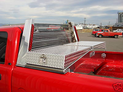 Gull Wing Tool box for long / short bed Pickup Trucks