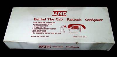 Lund 13196 Dodge Ram Truck Fastback Cab Spoiler