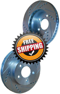 Plymouth Voyager AWD 97-00 Brake Disc Rotors FRONT