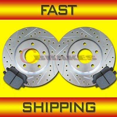 Toyota Supra 5/93 94 95 96 97 98 F&R Brake Rotors Pads