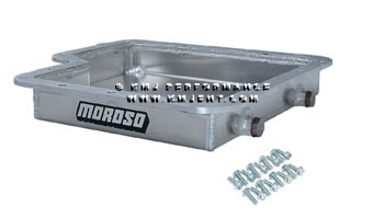 MOROSO ALUMINUM AUTOMATIC TRANSMISSION PAN FORD C6