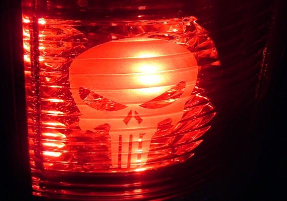 NISSAN XTERRA TAIL BRAKE LIGHT DECALS 00 02 03 04 05 06