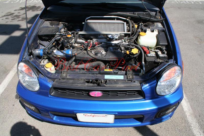 BCP 0206 Subaru WRX Turbo STi Cold Air Intake  Filter
