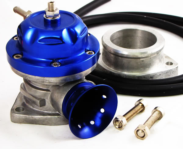 JDM Universal Turbo Blow Off Valve BOV TypeS/RS BLUE