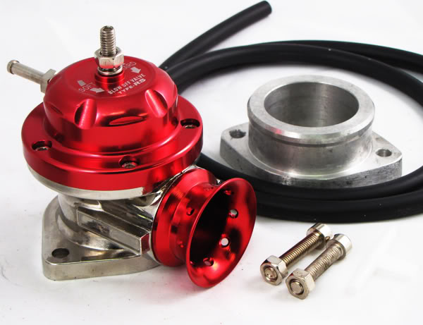 BOV TURBO BLOW OFF VALVE TYPE RS EVO MR2 SUPRA RX7 RED