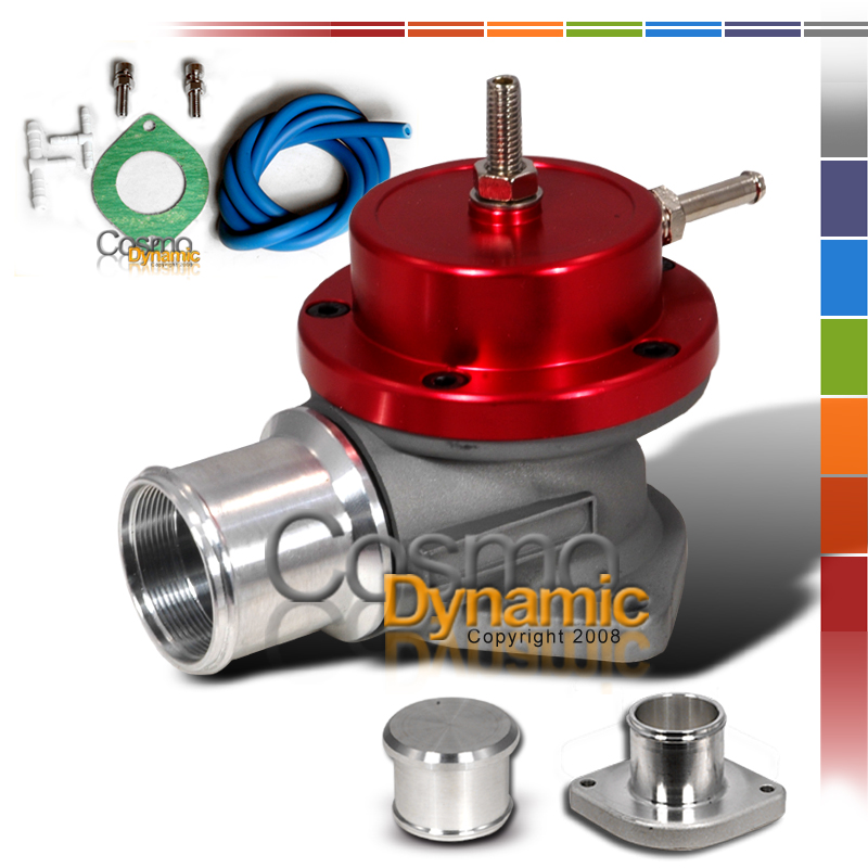 ECLIPSE GST TURBO BLOW OFF VALVE TYPE S RS SSQV BOV RED