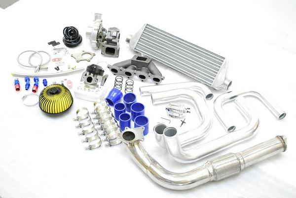 DSeries D15 D16 Civic CRX Del Sol T3T4 Full Turbo Kit