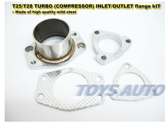 T25 T28 GT25R GT28R GART TURBO INLET OUTLET FLANGE
