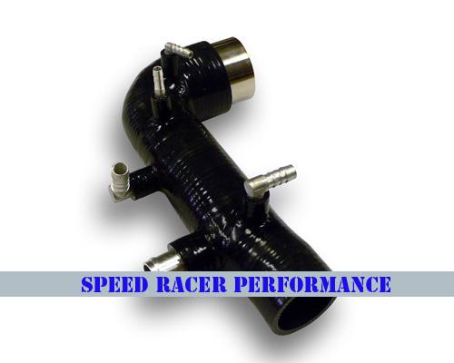 0206 Subaru Impreza WRX Turbo Inlet 4 PLY BLACK