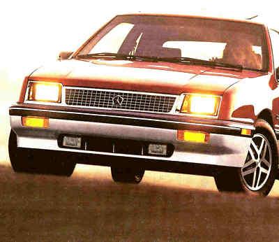 1988 PLYMOUTH SUNDANCE BROCHURESUNDANCE RS TURBO