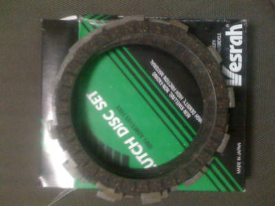 Vesrah VC360 Clutch Fiber Disc Set SV650 SV 650 9902