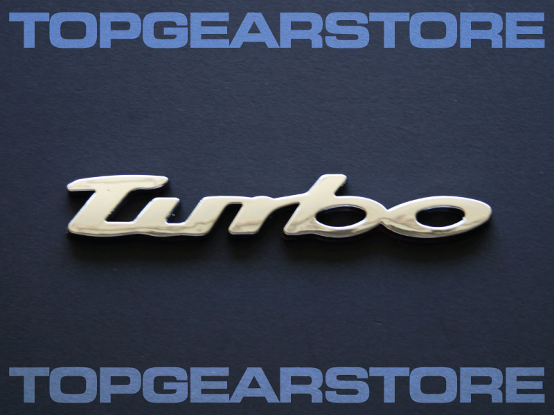 VW Turbo Emblem Badge GTI GOLF R32 MK3 MK4 MK5 BEETLE R