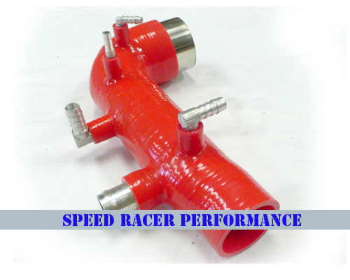 0206 Subaru Impreza WRX Turbo Inlet 4 PLY RED