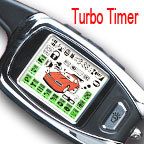 Two way 2 Way LCD Remote Start Alarm System TURBO timer
