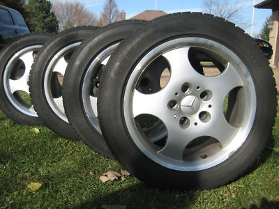 Mercedes CLK 320  Rims with  winter tires