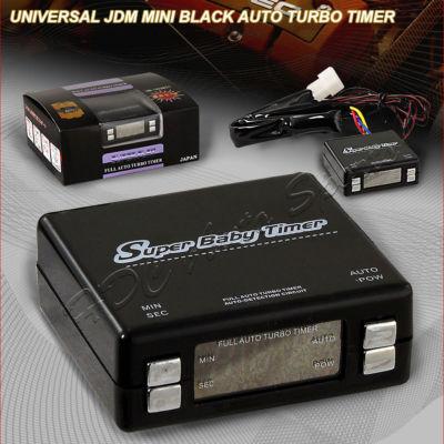 Universal JDM Black Mini Auto Turbo Timer Controller