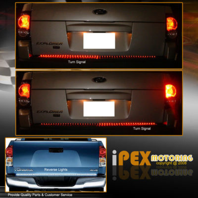 49″ REVERSE/BRAKE/SIGNAL LED TRUCK TAILGATE LIGHTS BAR