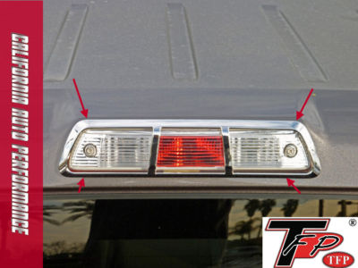 092010 FORD F150 CHROME 3RD BRAKE LIGHT COVER by TFP