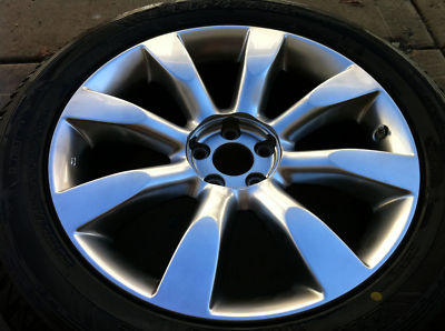 OEM INFINITI  FX45 FX35 20 in WHEELS Winter Tires