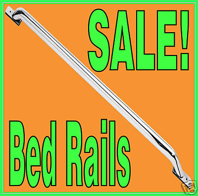 Polished Stainless Bed Rails 9205 Ford Ranger Long Bed