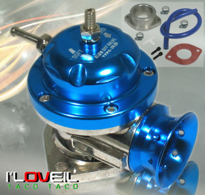 UNIVERSAL BLUE LIP JDM TURBO TYPE RS BOV BLOW OFF VALVE