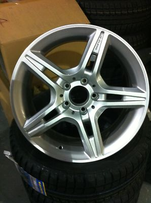 MERCEDES GLK BRIDGESTONE WINTER TIRES 17″ WHEELS