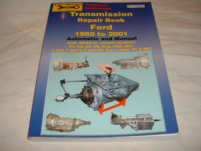 Ford 1960/01 Automatic/Manual Transmission Repair Book