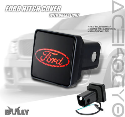 BULLY FORD HITCH COVER PLUGBRAKE LIGHT F150 F250 F350