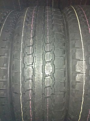 4x 245/75R16 TRUCK WINTER TIRES FORD DODGE GM CHEVROLET