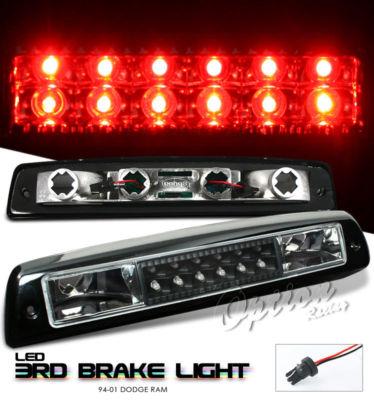 9401 DODGE RAM BLACK LED TAIL 3RD BRAKE LIGHT 95 96 97