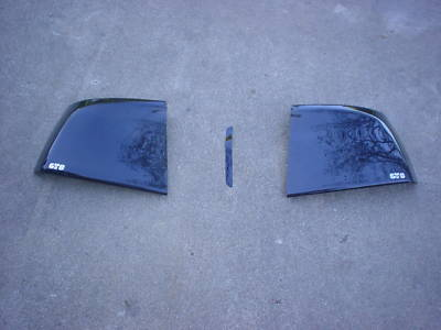 BLACK OUT TAIL LIGHT COVERS & THIRD BRAKE LIGHT COVER