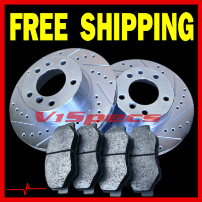 LINCOLN TOWN CAR 95 96 97 BRAKE ROTORS PADS FRONT