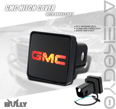 BULLY GMC HITCH COVER PLUGBRAKE LIGHT SIERRA YUKON 00