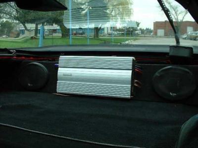 Porsche 944 turbo 944S 951 944S2 Speaker Box
