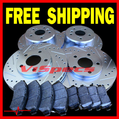 PORSCHE 944 TURBO 89 90 91 BRAKE ROTORS PADS F&R
