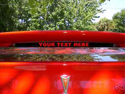 2004, 2005, 2006 GTO spoiler 3rd brake light cover GOAT