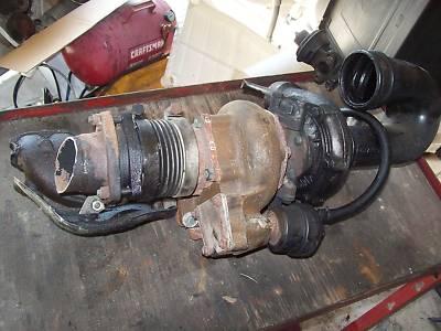 8185 Mercedes Turbo Turbocharger 300sd 300 w123 w126