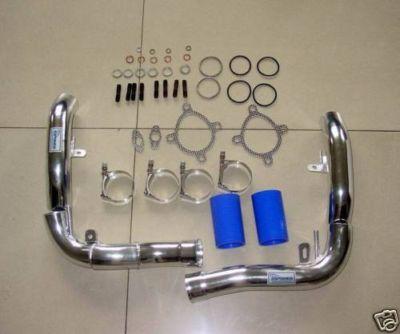 Audi RS4 Turbo Inlet Pipes Aluminium S4 K04 upgrade