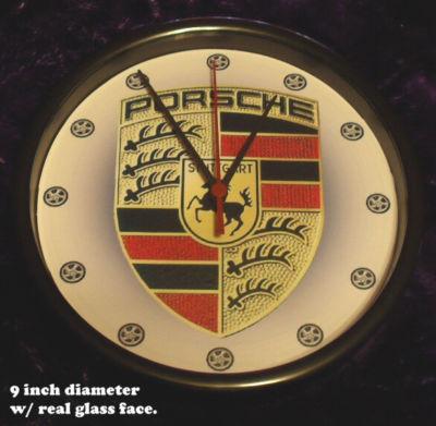 Porsche 911/928/930/944 turbo Emblem wheels Clock