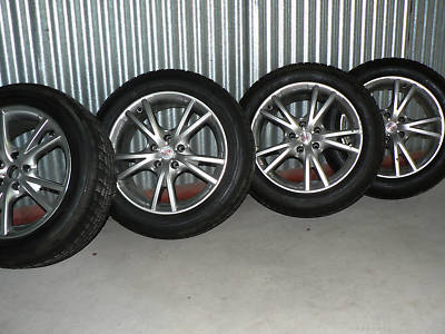 Mille RIMs Michelin Alpin Winter Tires Lexus LS 400/30
