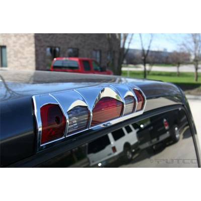 Dodge 0208 Ram Chrome Third Brake Light Cover,
