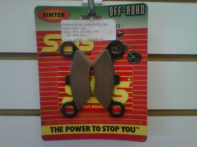 Polaris Front Brake Pads SBS Sportsman Ranger Xplorer