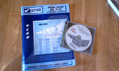 ATGS 700 R4 Repair Manual and DVD GM Transmission