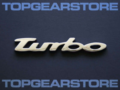 VW Turbo Emblem Badge GTI GOLF R32 MK1 MK2 MK6 BEETLE R