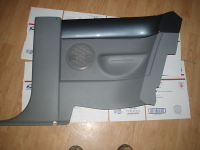 05 VW TURBO BEETLE REAR INTERIOR SIDE PANELS LH& RHSIDE