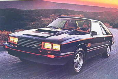1979 MERCURY CAPRI GIANT Dlx Catalog TURBO RS MINT