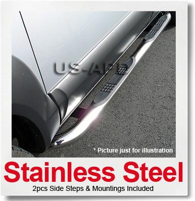 0308 Silverado/Sierra Ext Cab 8'Bed(W2W) S/S Nerf Bars