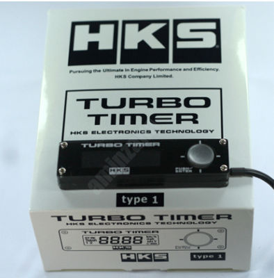 HKS TYPE 1 TURBO TIMER BLACK UNIVERSAL  Evo 8 9 10